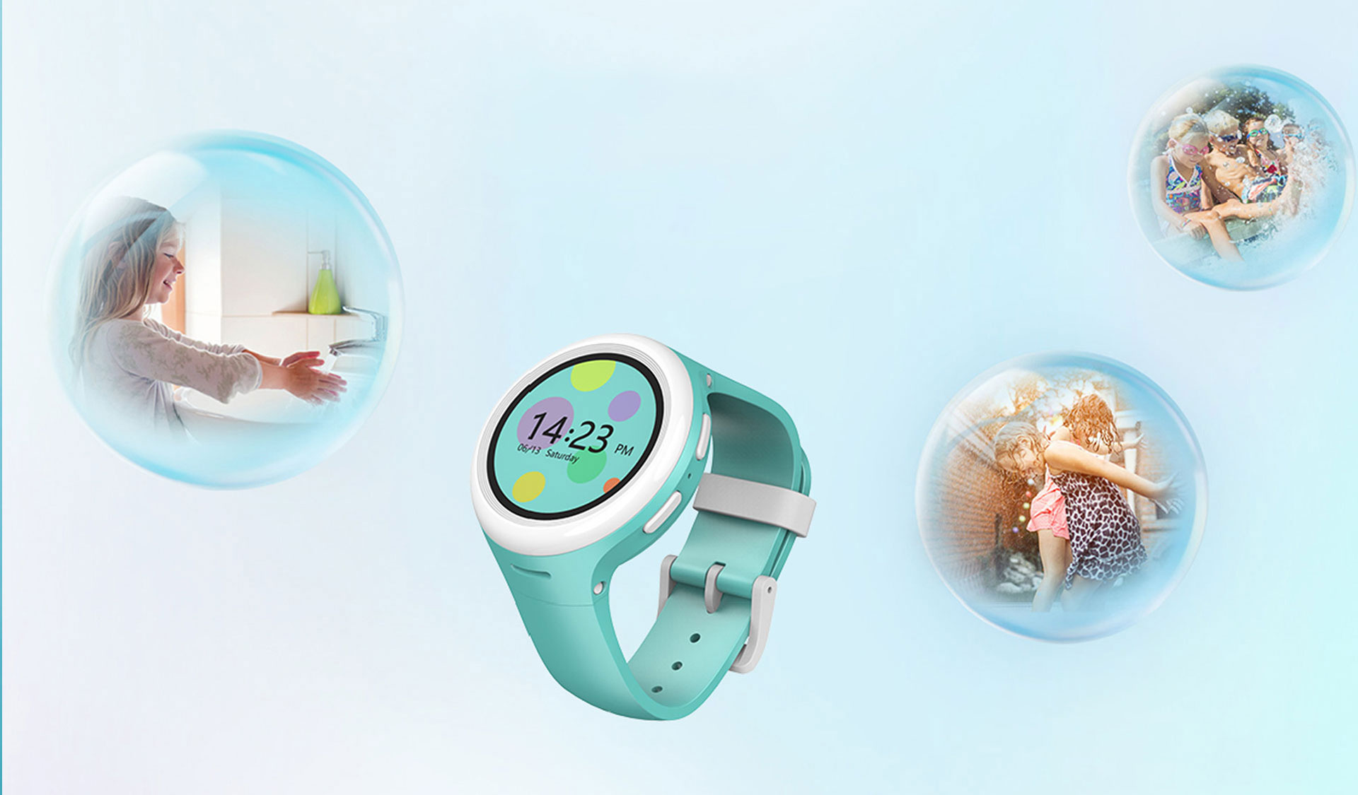 A15 4G Smart Video Watch IP67 Water Resistant